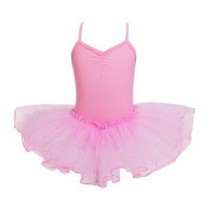 US-Girls-Ballet-Leotard-Tutu-Dress-Gymnastic-Ballerina-Skate-Dance-Skirt-Costume