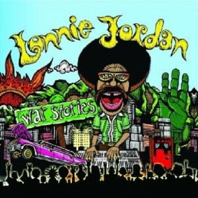 LONNIE JORDAN - WAR STORIES  CD NEU