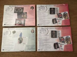 Lot of 4 ~NEW~ Creative Memories 5X7 Scrapbook Pages