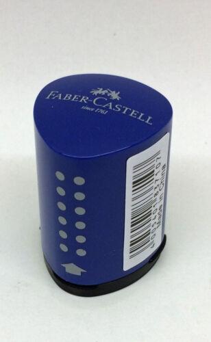 183710 Faber Castell Einfachspitzdose Mini Grip 2001 blau rot Anspitzer Spitzer