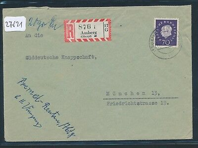 2 Reco-brief 1960 Ab Amberg Akz-rz 27621 oberpf