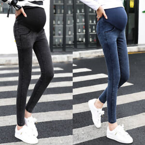 comprare a buon mercato caratteristiche eccezionali scarpe da corsa Donna Jeans Jeans Gravidanza Denim Pantaloni per Donna ...