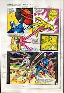 1983-Captain-America-Marvel-Comics-color-guide-art-page-100-039-s-MORE-IN-OUR-STORE