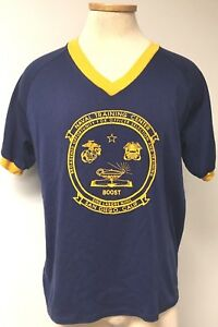 NAVAL-TRAINING-CENTER-T-SHIRT-SAN-DIEGO-CALIF-OFFICER-SELECTION-amp-TRAINING-L