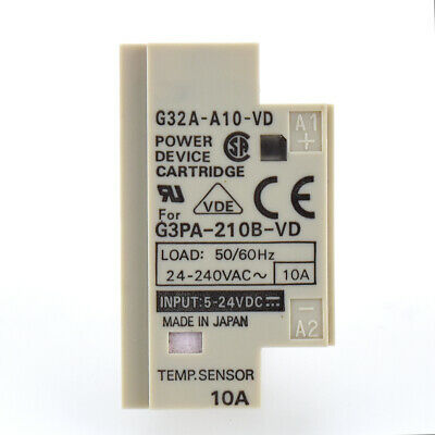Omron G32A-A10-VD Power Cartridge 24-240VAC 10A 50//60Hz  USED