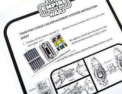 Star Wars Items Collection On EBay - Star wars custom die cut stickers
