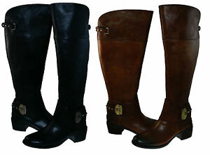 Vince-Camuto-Womens-Beatrix-Pull-On-Tall-Over-The-Knee-Equestrian-Riding-Boots