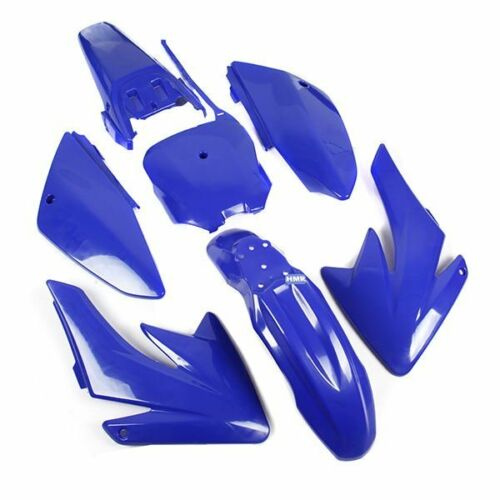 Hmparts revestimiento set Dirt bike pit bike CRF 70-style tipo 6 azul