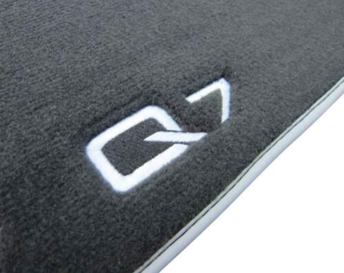4x Original Audi Premium Velours Textil Fußmatten Matten SET für Audi Q7 4M 15