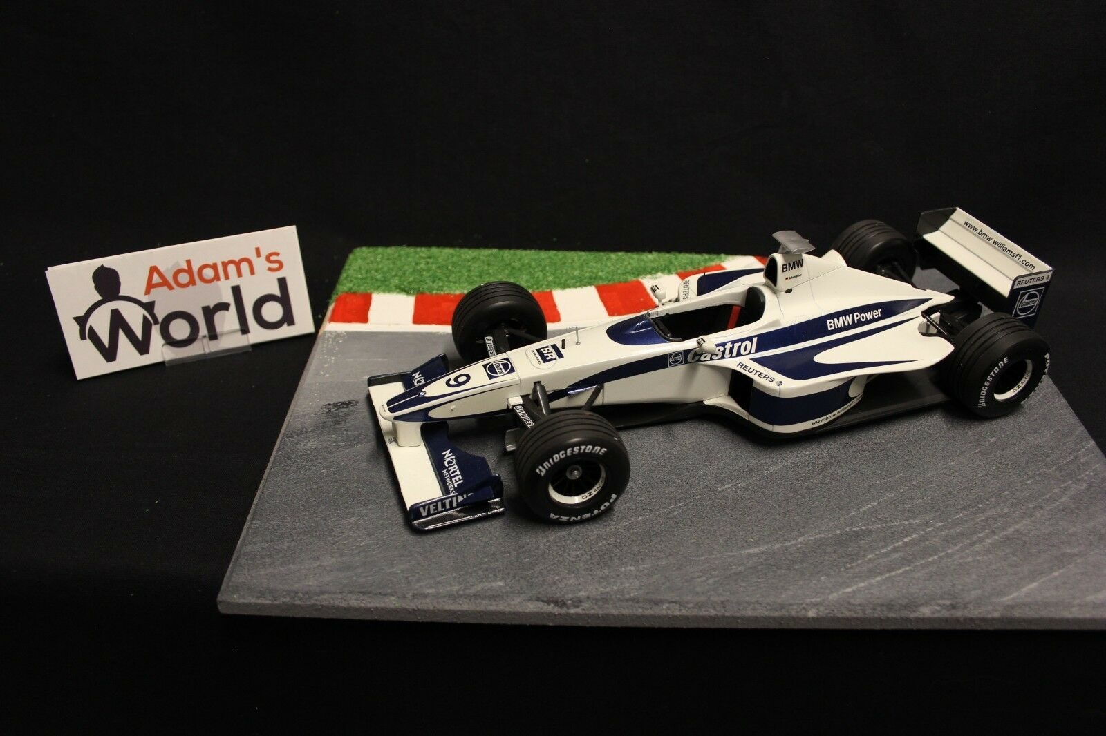Minichamps Williams BMW show car 1 18  9 Ralf Schumacher (GER) (F1NB)