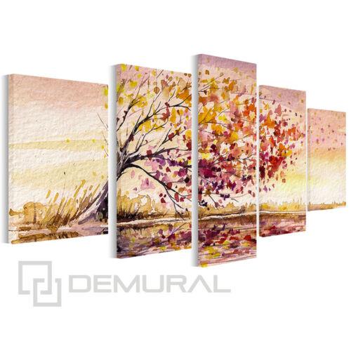 Bild Foto Leinwand Bilder Baum auf dem Wind Wandbilder Landschaft B5D20