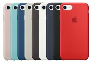 Funda Silicone Case para Apple iPhone 8 / 7, (No Original, Calidad A+, Carcasa)
