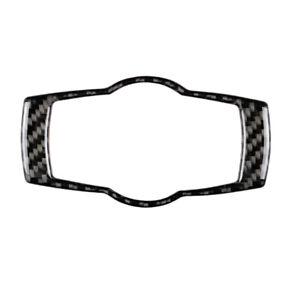 Carbon-Fiber-Headlight-Switch-Frame-Cover-Trim-for-BMW-3-Series-E92-E93