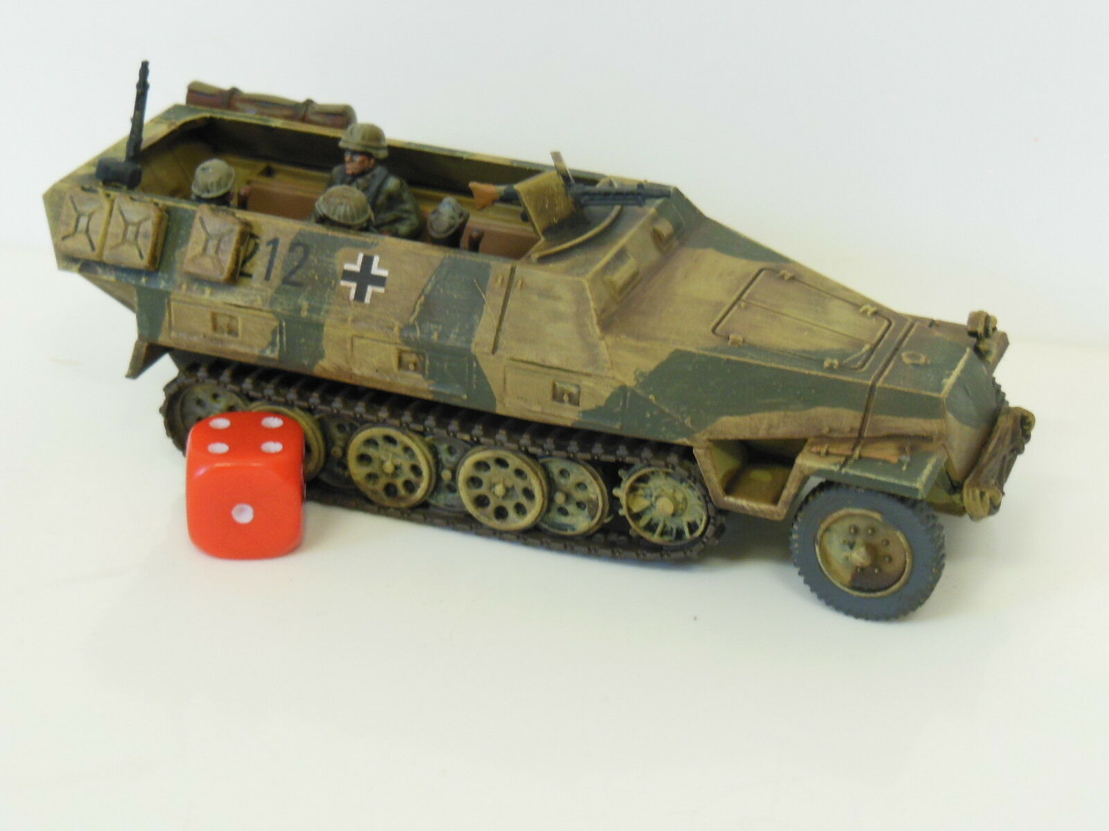 28mm Bolt Action Chain Of Command German Hanomag Sdkfz 251 - Painted