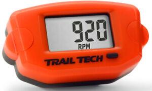 Trail Tech TTO Tach Hour Meter Orange 743-A00 56-3417 2212-0647 665-0032OR