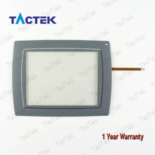 Touch Screen Panel Glass for Beijer Mitsubishi E1063  Type 07915A with Overlay