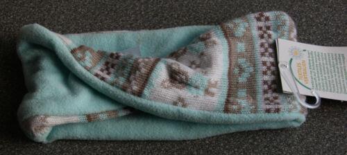 ERGEE Baby Loopschal türkis  Norwegermuster NEU mit Etikett