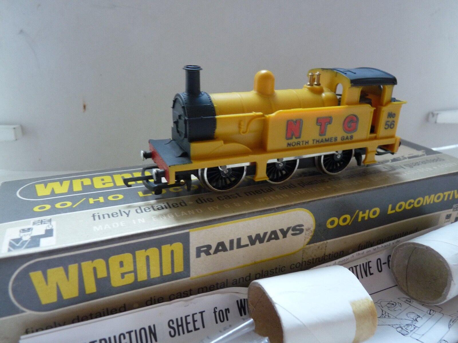 WRENN W2202 0-6-0 amarillo N.T.G.TANK NEW BOXED