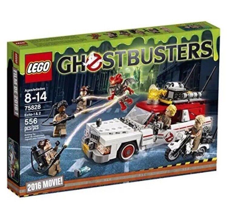 Lego Ghostbusters Ecto 1 & 2 75828 Kit de construcción (556 piezas). nuevo En Caja retirado