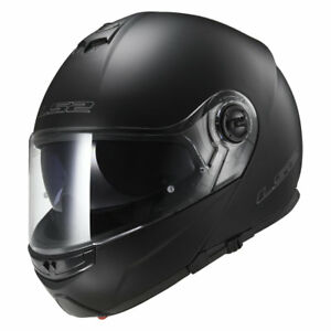 LS2-CASCO-plegable-Casco-para-motocicleta-con-Parasol-FF325-Strobe-Negro-Mate-XS