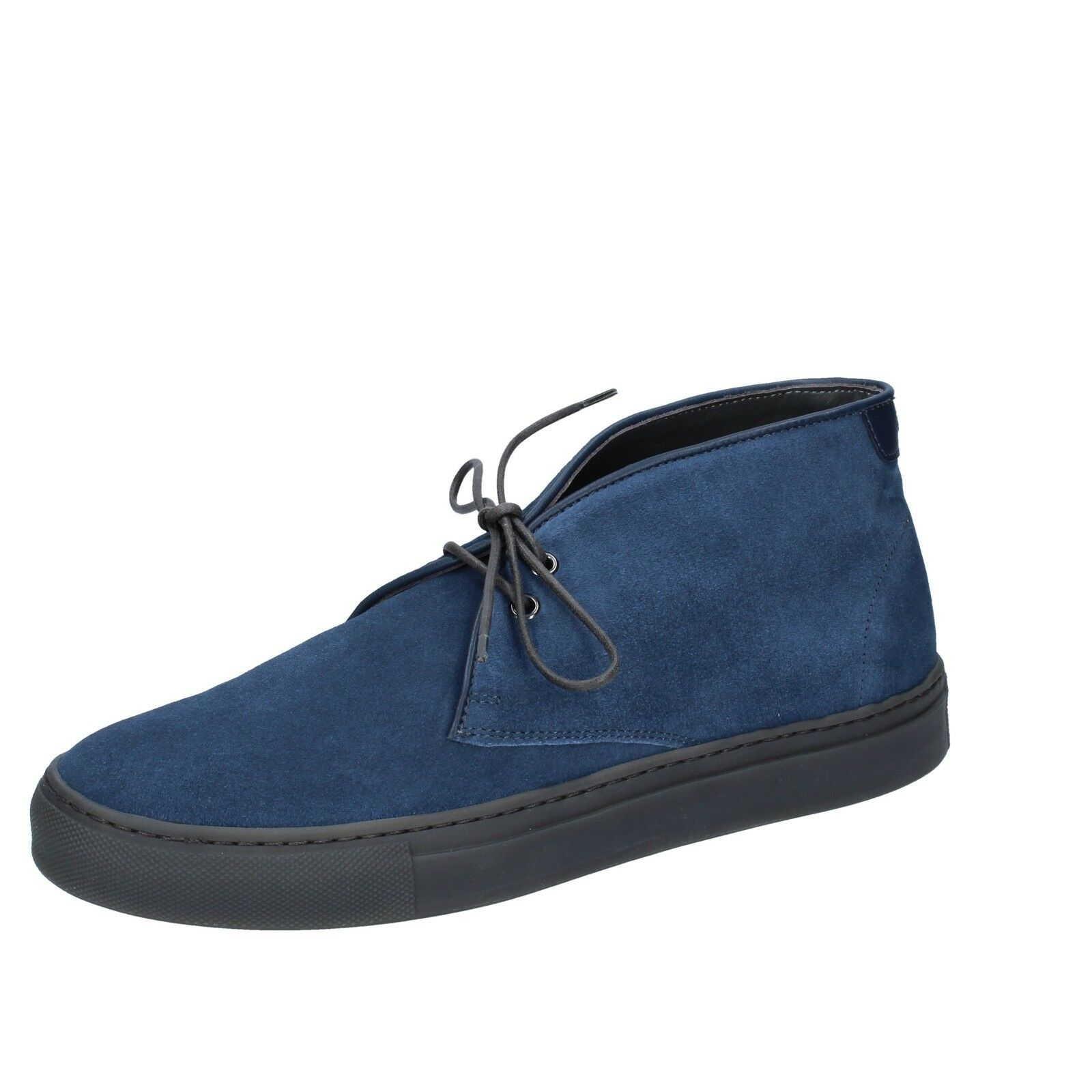 Mens shoes GUARDIANI 8 (EU 42) desert boots bluee suede ZX617-42