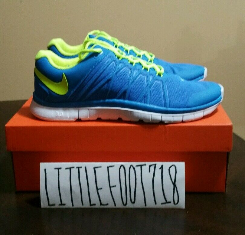 best authentic a6c39 7f593 ... Nike Free Trainer 3.0 Blue Volt-White Blue Volt-White Blue  ...