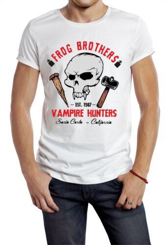 The Lost Boys T-shirt Inspired Frog Brothers Santa Carla Movie Film Vampires uk