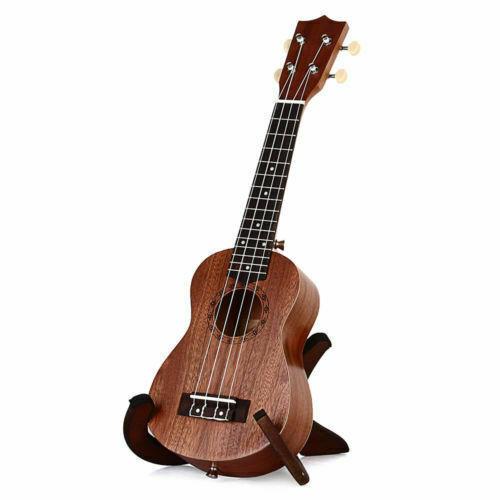 Brown 21 Inch Soprano Ukulele Ukelele Uke Sapele15 Frets Musical Instrument For Sale Online Ebay