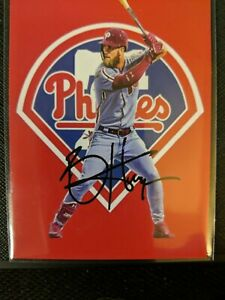 Bryce-Harper-2019-Custom-Card-ACEO-art-card-Phillies-RARE-AUTO