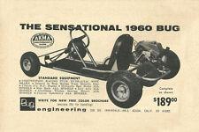 Vintage /& Very Rare 1960 Blitz Kart Go-Kart Ad
