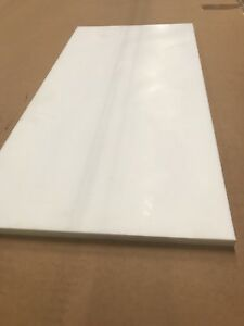 PTFE Virgin Teflon Sheet 1//2 .500 x 24 x 24