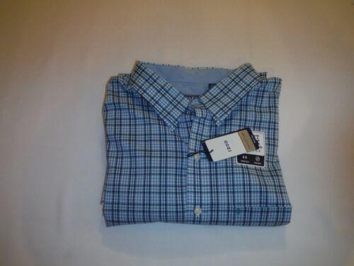 Many Color Big /& Tall Long Sleeve Button front Men/'s Shirt IZOD 4XL,3XL,XLT