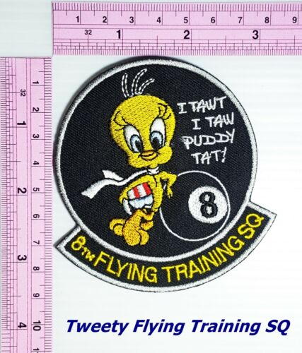 Tweety Bird Looney Tunes Cartoon Iron On Patch Sylvester Embroidered Applique