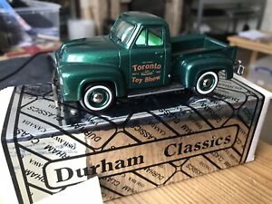 Durham Classics Dc-2a 1953 Ford Pick Up No90 De 200 Construit À La Main!   1:43