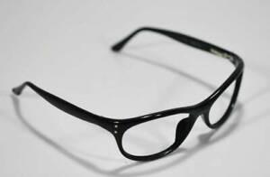 en ligne ici réel classé beau look Détails sur Fossil Unisexe Ronald Plastique Noir Lunettes Monture Style  Créateur Rx Lunettes