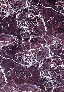 Purple White Marble Self Adhesive Vinyl Contact Paper