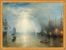 Keelmen Heaving in Coals by Moonlight William Turner Segelschiffe B A2 03538