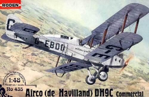 1:48 D.H.9C Commercial NEU Tipp Airco De Havilland DH9C Modell-Bausatz RODEN