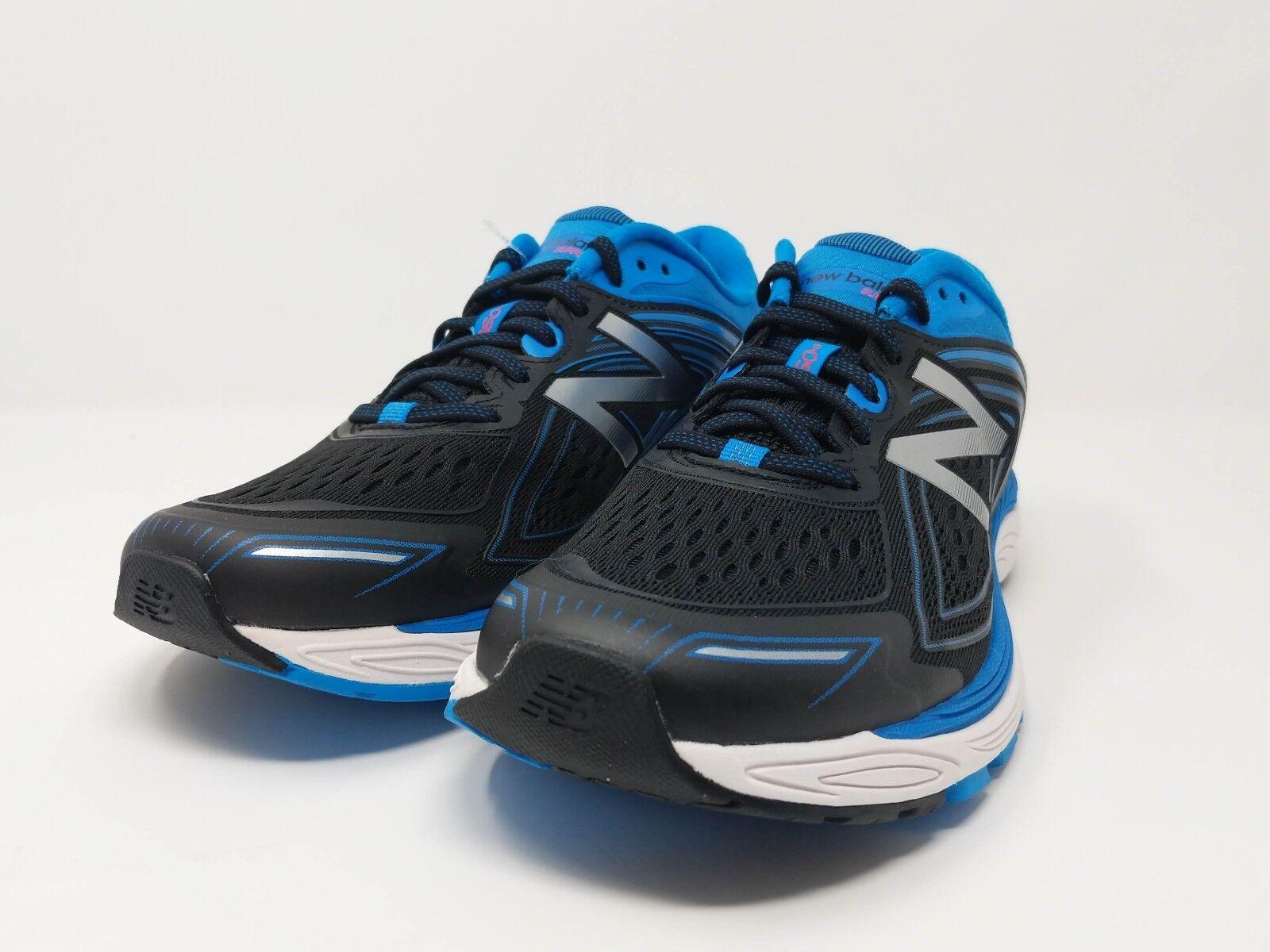 Para Hombre Zapato De Correr New Balance 860v8 Azul Negro blancoo M860BB8 de ancho