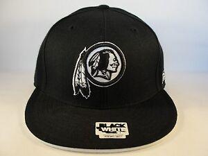 58de5b1d4f0 Image is loading NFL-Washington-Redskins-Reebok-Fitted-Hat-Cap-Black-