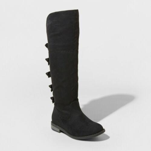 Cat /& Jack Black NWT Girls/' Leora Tall Boots