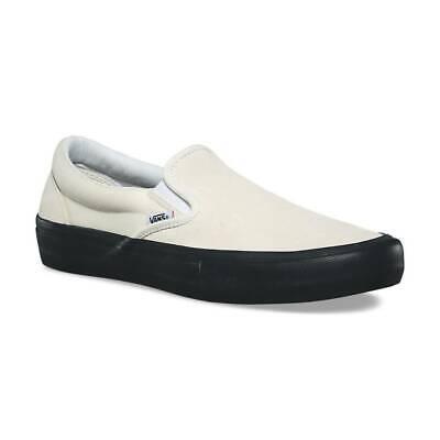 Details zu Vans Slip On Pro Classic WhiteBlack VN00097MU20 Mens Skate Shoes