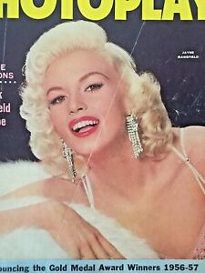 Vintage-Collectible-Movie-Magazine-Jane-Mansfield-Cover-March-1957