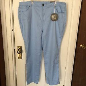Avenue-Denim-Jeans-24-Average-Light-Blue-Butter-Denim-Skinny-NWT