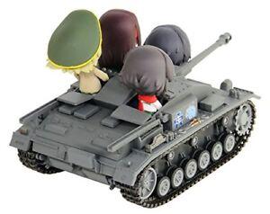 Pair-Dot Girls und Panzer StuG III Ausf.F Ending Ver National Convention Figure