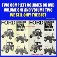 Ford 2610 3610 4110 4610 5610 6610 6710 7610 7710 Tractor Service Manuals 2 Vols