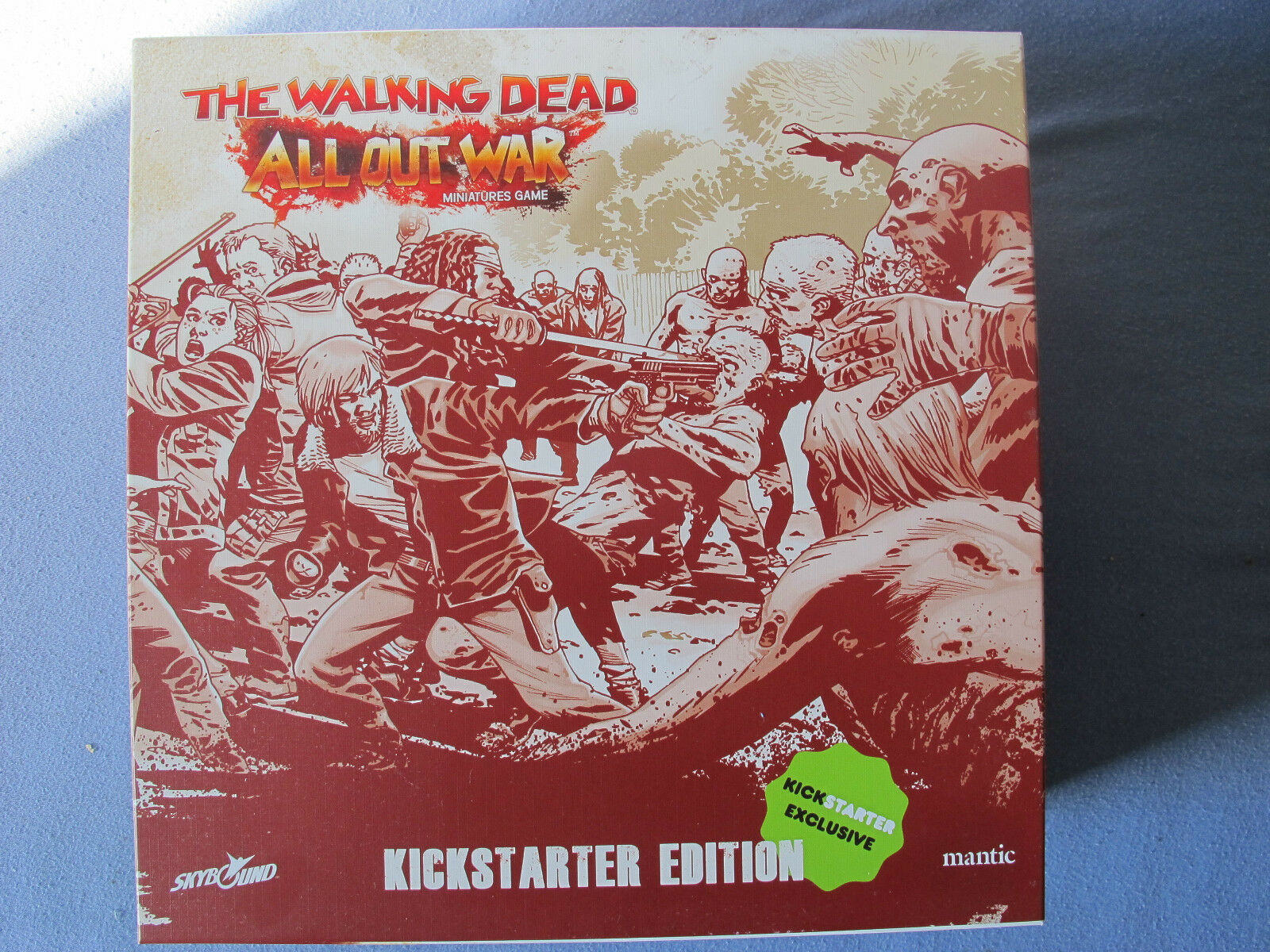 The Walre Dead tutti Out War Kick estrellater Editorion Expansion Miniatures gioco