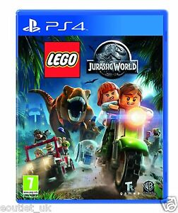 Lego Jurassic World Ps4 Kids Game For Sony Playstation 4 New