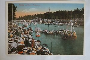 Henley-on-Yarra-Melbourne-Vic-Australia-Vintage-Repro-Collectable-Postcard