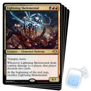LIGHTNING SKELEMENTAL X4 Modern Horizons Magic MTG MINT CARD